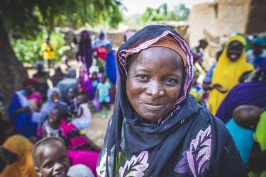Woman smiling in Niger