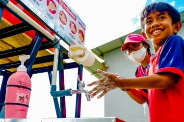 Indonesia-water-station