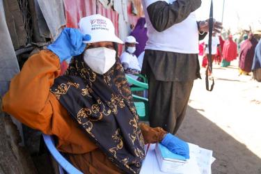Mercy Corps Somalia is conducting a variety of WASH-related projects to combat the spread of COVID-19